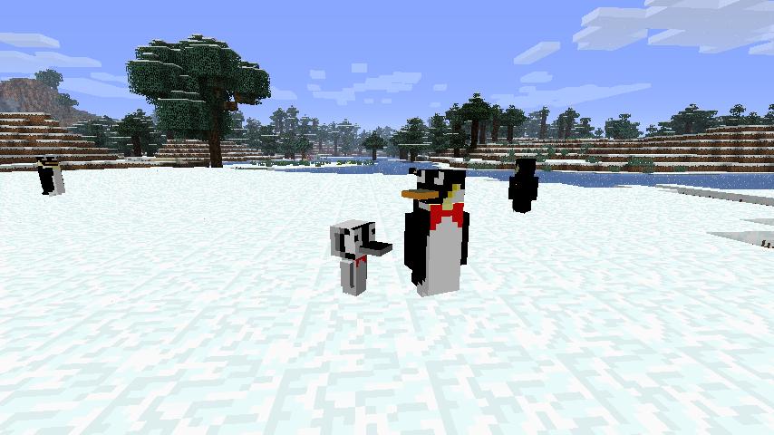Rancraft Penguins Mod